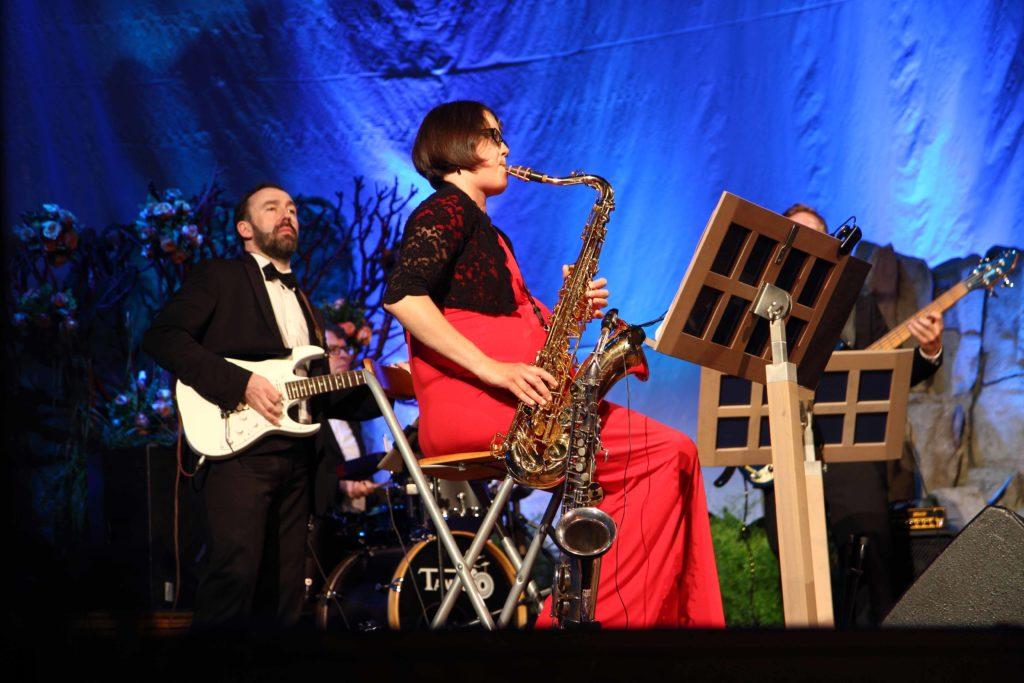 Band Sunny Side auf dem Ball in Bad Kissingen