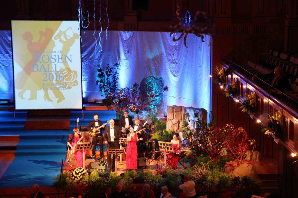 Band für Tanz, Party, Gala - Rosenball Bad Kissingen